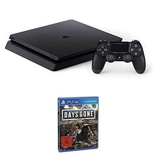 PlayStation 4 - Konsole (1TB, schwarz) + Days Gone - Standard Edition