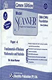 Model Scanner CMA/CWA Foundation : Fundamentals of Business Mathematics and Statistics - Green Edition (Paper - 4)