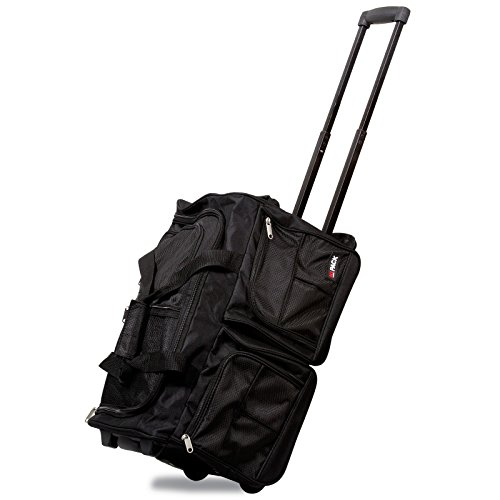 65748103a1 Hipack 20-Inch Carry-on Rolling Duffle Duffel Bag