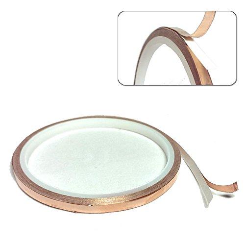 Preisvergleich Produktbild 1,80€/m 3M Scotch 1181 Abschirmband Kupferfolie Kupferband selbstklebend Klebeband 5mm x 5m