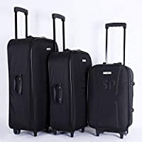 TAKE OFF Trolley Travel Bags Set 3 Pieces Black, 28/001