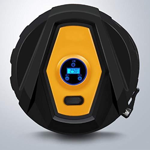 Preisvergleich Produktbild LGZOOT Luftkompressor Gonfiatore Per Pneumatici Digitale Da 3, 5 V Con Adattatore Per Valvola Di Illuminazione A LED Da 3, 5 Min