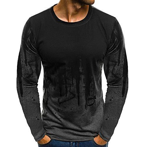 Innerternet Langarmshirt Herren Longsleeve Slim Fit T-Shirt Leicht Oversize Basic Sweatshirt in Vielen Farben Langarmshirt mit...