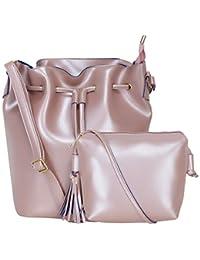 Don Cavalli Women s PU Leather Handbag 56059915c953a