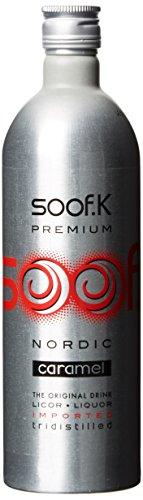 Soof K Caramell Vodka Likör in Aluflasche (1 x 0.7 l)