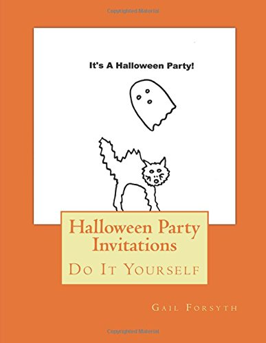 Halloween Party Invitations: Do It Yourself