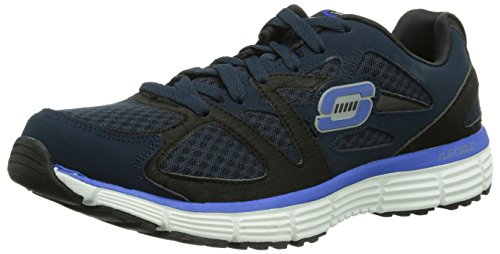 Skechers AgilityUltimate Victory Herren Sneakers Blau (Nvbl)