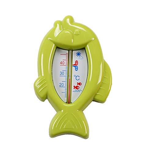 Mudacun Baby-Badethermometer-Karikatur-Fisch-Form-Wasserthermometer 1Pc (grün)