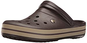 crocs Unisex-Erwachsene Crocband Clogs, Braun, 42/43 EU