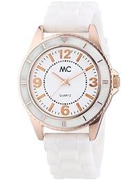 MC Timetrend Damen-Armbanduhr Analog Quarz Kunststoffband 50881