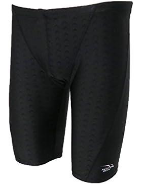 Sharplace Pantalones Cortos de Nadadores de Hombres Calzoncillos del Boxeador Multiusos de Color Diferente - Negro...