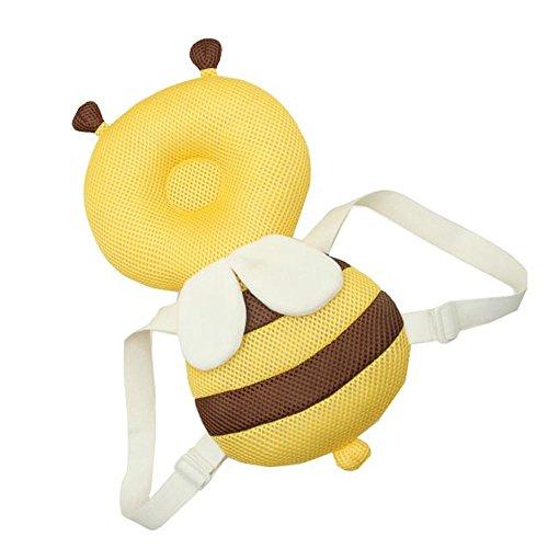 utz Infant Safety Kissen Soft Cute Bee Schützen Baby Kopf drop Widerstand Pad verhindern Head Verletzte für Kleinkinder lernen zu gehen oder Laufen ()
