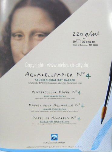 Schoellershammer Aquarellblock 30 x 40 cm DaCapo N°4