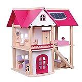 WDXIN Juguete de casa Juegos niños Educativo Casa de muñecas de...