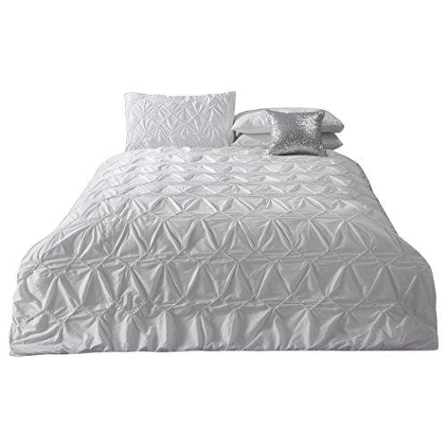 Bettwäsche Bettbezug Sets Bettwäsche bestickt Doppel bestickt Baumwolle Bettbezug 4pcs (Bettbezug * 1pc + Blätter * 1pc + Kissen Shams * 2ST),King 220*240cm