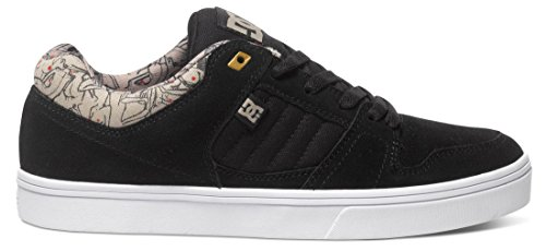 dc-shoes-herren-schuhe-course-2-se-scarpe-da-skateboard-uomo-nero-schwarz-black-tan-bt0-42-eu