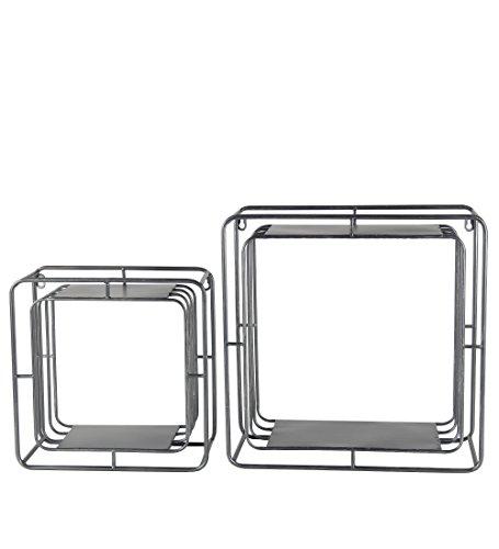 GWG Auslass 2Stück Eisen Wand Cubes 30102 (2 Auslass Wand)