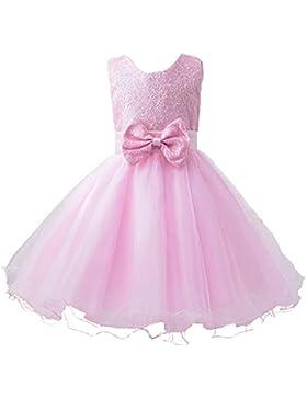 WOLFTEETH Vestido de Princesa de Muchachas de la fiesta de edad para Prom la Boda y la Fiesta de Cumpleaños