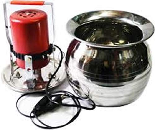 MAHIMA Generic Electronic Mini Madhani with lota to perculate Curd and Making Butter Upto 8 kg