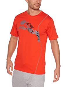 Puma Grpahic Cell T-Shirt manches courtes homme Miami Red S