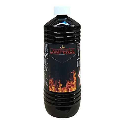 Kertou Lampenöl für Öllampen Bambusfackeln Gartenfackel und Wandfackeln - Wählen Sie 1/3/6 Liter (1 Liter)