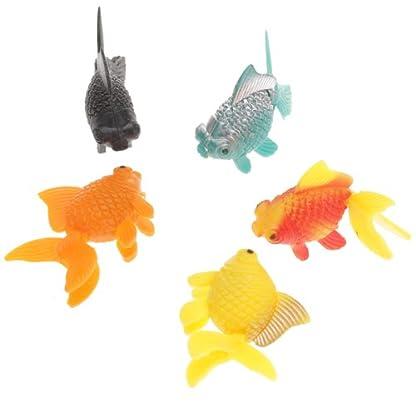 5pcs Plastic Artificial Fish Ornament for Fish Tank Aquarium 6