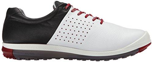 ECCO Mens Biom Hybrid 2, Scarpe da Golf Uomo Multicolore(White/Concrete/Black 59394)