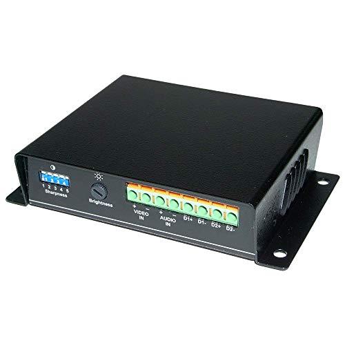 Cablematic-Aktive Extender UTP Cat. 5Audio Video tta111avr Empfänger von Daten Aktive Utp Video