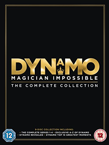 Dynamo - Magician Impossible: The Complete Collection (Season 1-4) [9 DVDs] [UK Import] -