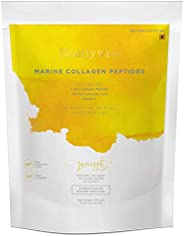 Beautywise Pineapple Marine Collagen Peptides Supplements | Clinically approved Results For Healthier Skin, Ha