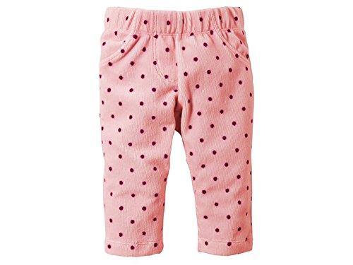 Baby Mädchen Cordjeggings Hose in verschiedenen Größen (86/92, Rosa)
