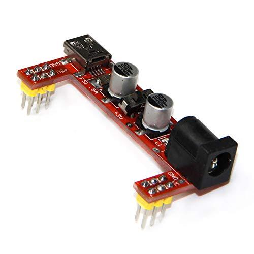 Acreny Steckplatinen-Netzteil-Modul, 2-Wege, 5 V/3,3 V, 1 Stück -