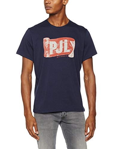Pepe Jeans London Herren T-Shirt Blau (Marine)
