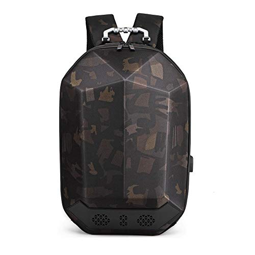 "Preisvergleich Produktbild Hombres 15.6""Mochila para portátil Mochila escolar para adolescentes,  bolsa de viaje masculina impermeable multifunción,  mochilas Bluetooth USB"