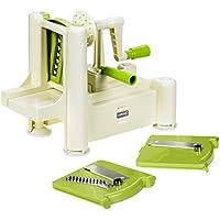 Lurch Spirali 10203 - Cortador de verduras (color beige y verde)