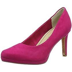 Marco Tozzi Damen 22414 Pumps, Pink (Pink 510), 38 EU