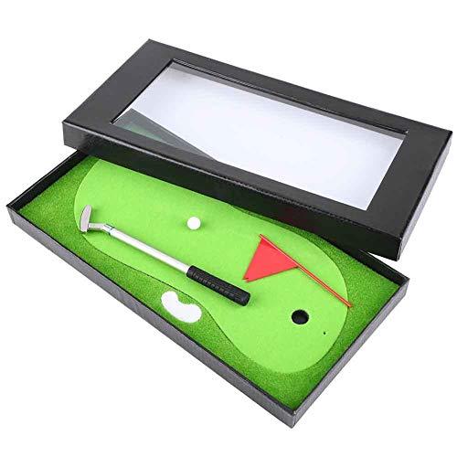Vobor Golf-Pen-Set - Mini-Golf-Pen-Set, Desktop-Kugelschreiber-Set, Golf-Geschenk-Set mit Putting Green & Flag & Ball Schreibwaren Dekorationen, Souvenir Neuheit Geschenk für Golf-Liebhaber -