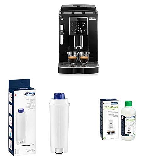 De'Longhi ECAM Kaffeevollautomaten, schwarz + Wasserfilter | Zubehör für alle De'Longhi Kaffeevollautomaten mit Zubehöre