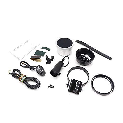 HoganeyVan CNSPEED 80MM Drehzahlmesser 0-8000 U / min. 7 Farben Leichter Hochgeschwindigkeits-Schrittmotor mit Schaltlicht und Spitzenwarnung -