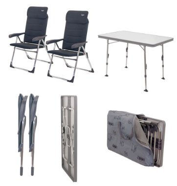 Crespo Stuhl-/Tischset Valencia gepolstert