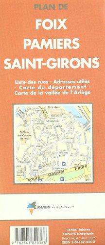 Plan de Foix, Pamiers, St-Girons par (Broché - Mar 10, 2000)