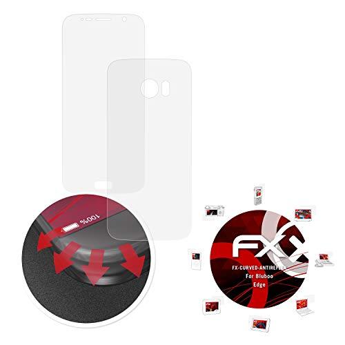 atFolix Schutzfolie passend für Bluboo Edge Folie, entspiegelnde & Flexible FX Bildschirmschutzfolie (3er Set)