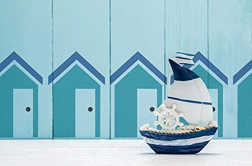 et Schablone Strand Nautisch Thema Dekor Schablone malen Wände, Stoffe, Möbel wiederverwendbar ()