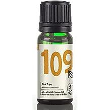 Naissance Olio di Albero del Tè Biologico - Olio Essenziale puro al 100% - Certificato Biologico - 10ml