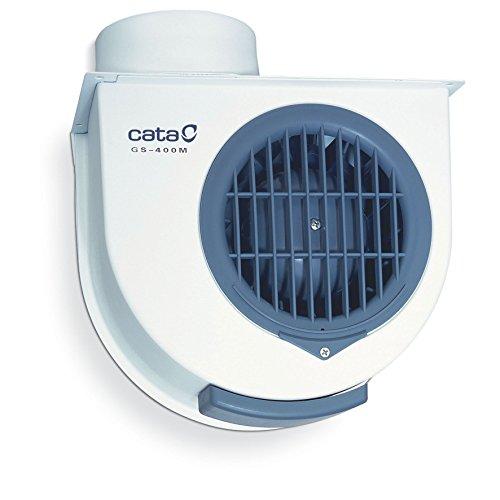Cata Gs 400 M - Extractor centrífugo de cocina, 60 W, color blanco y gris