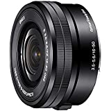 Sony SELP1650 Alpha NEX Zoom OSS F3,5-5,6 16-50 mm Argenté