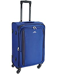 Pronto Rome Polyester 68 cms Blue Soft Sided Suitcase (6532 - BL)