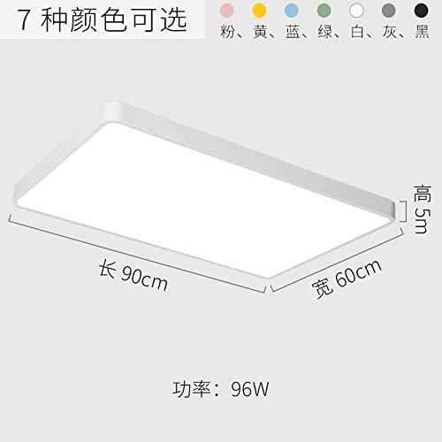 Schlafzimmer Balkon Lampe kreative Wohnzimmerlampe LED Lampe 90cm grau-weißes Licht