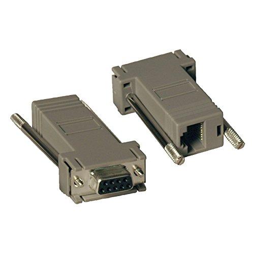 Tripp Lite null-Modem Serial RS232Modular Adapter Kit 2x (DB9F TO RJ45F) (P450-000) - Modem-kit
