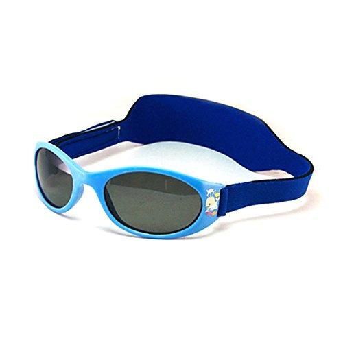 MOLA MOLA - Gafas de sol - para bebé niño azul azul